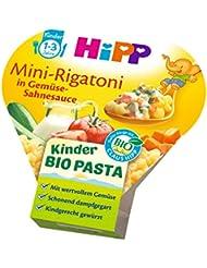 HiPP Kinder-Bio-Pasta Mini-Rigatoni in Gemüse-Sahnesauce, 1er Pack (1 x 250 g)