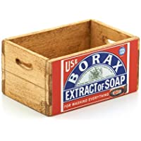 MyTinyWorld Dolls House Borax Soap Extract Branded Wooden Crate