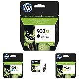 HP 903XL CMYK Original Druckerpatrone mit hoher Reichweite für HP Officejet, HP Officejet Pro