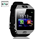 Smart Watches Best Deals - ELV Touch Screen Bluetooth Smart Wrist Watch with Camera & SIM Card Slot for Smartphones (Black)