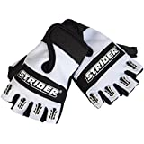 Strider Half Finger / Fingerless Riding Gloves / Mitts, Small Age 18 months - 3 years