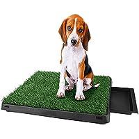 Sailnovo Inodoro para Mascotas Perro Césped Interior Orinal Perro Almohadilla de Entrenamiento de Hierba para Animal