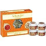 Vaadi Herbals Saffron Skin Whitening Facial Kit with Sandalwood Extract, 70g
