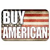 Graphics and More 22,9x 15,2cm 'kaufen, American Rustikal Vereinigten Staaten Flagge' Metall Schild