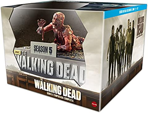 The Walking Dead. Season five (THE WALKING DEAD: TEMPORADA 5 ED.COLECCIONISTA (BLU-RAY+DVD), Spanien Import, siehe Details für S