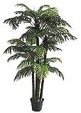 Decovego Palmizio Palma Areca Albero Pianta Artificiale 180cm