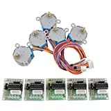 5V Stepper Motor 28BYJ -48 Mit Drive Test Module Board ULN2003 Fit For Arduino