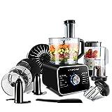 Robot culinaire Topchef 1100W Robot Multifonction(avec accessoires inclus: crochet pétrisseur,...