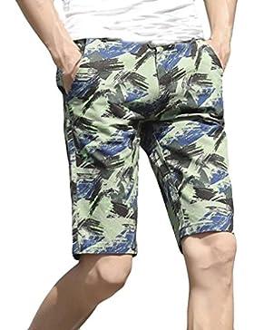 SANFASHION Herren Shorts Bañador - para hombre