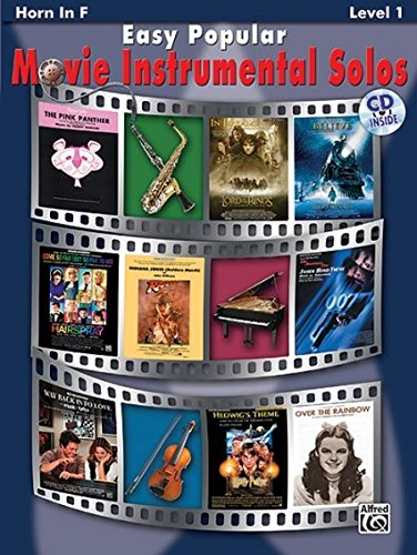 Easy Popular Movie Instrumental Solos: Horn in F (incl. CD) (Easy Popular Movie Instrumental Solo Series)