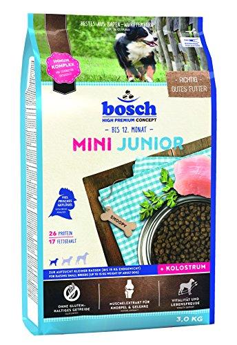 bosch Hundefutter Mini Junior, 1er Pack (1 x 3 kg)