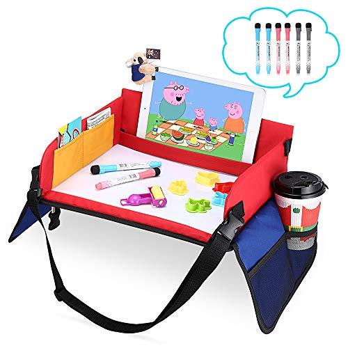 Mesa para niños en la Asiento de Coche, YOOFAN Bandeja de...
