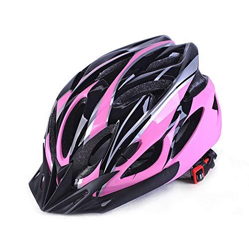 Erwachsene Männer Und Frauen Fahrradhelm Schutzhelme Radfahren Mountainbike Helm Reitausrüstung Geeignet Für Outdoor-Sport - Bequem, Leicht, Professionell, Atmungsaktiv,Pink
