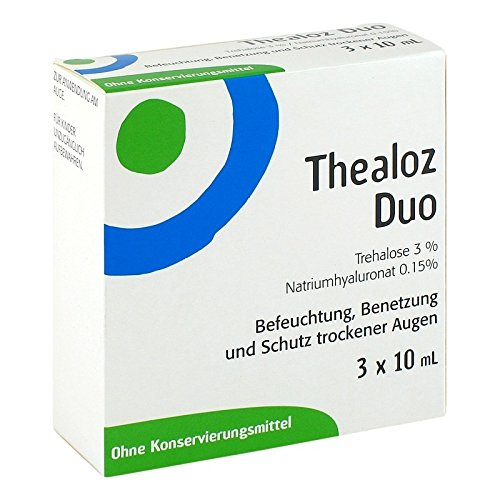 Thealoz Duo, 3x10 ml Lösung