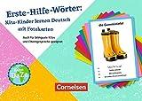 Deutsch lernen mit Fotokarten - Kita: Erste-Hilfe-Wörter: 250 Fotokarten