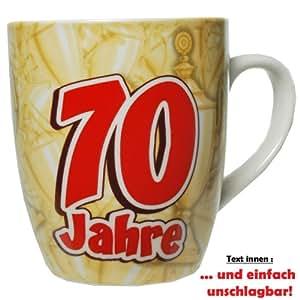 Tazza 70 anni caff tazza per 70 compleanno in for Cucinare anni 70