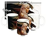 MasTazas Juego De Tronos Game of Thrones Daenerys Targaryen Emilia Clarke H Tasse Mug