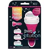 Wilkinson - Intuition - Variety Pack - Rasoir pour Femme et 3 recharges