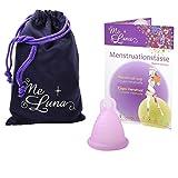 Me Luna Coupe menstruelle Soft, bague, rose, taille Shorty S