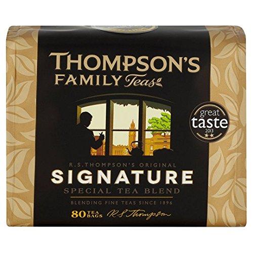 Thompsons Family Teas Signature Special Tea Blend 80 Btl. 250g – Special Edition des Punjana Herstellers Thompson