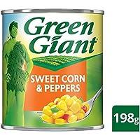 Maíz dulce gigante verde con pimientos 198g