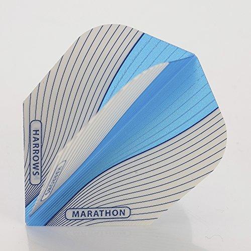 5-x-sets-harrows-aura-blue-dart-flights-standard-by-perfectdarts