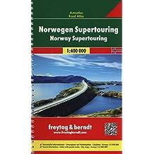 Freytag Berndt Autokarten, Norwegen, Autoatlas 1:400.000 (freytag & berndt Autoatlanten)