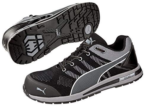 PUMA Sicherheitsschuhe S1P, Farbe:grau, Schuhgröße:44 (UK 9.5)