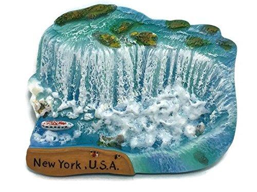 Niagara Falls New York USA Kanada Souvenir Kollektion 3D Kühlschrank Kühlschrank Magnet Hand Made Harz