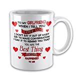 To My Girlfriend When i Tell You I Love You..... Novelty Gift Mug