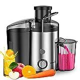EASEHOLD Centrifugeuse Fruits et Légumes 600W(max 800W) Extracteur de Jus Electrique...