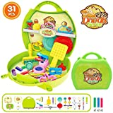 Higadget Clay Dough Play Activity Sets, Kids Pretend Play Dough Series With Moulds And Dough ( 31 Pieces )