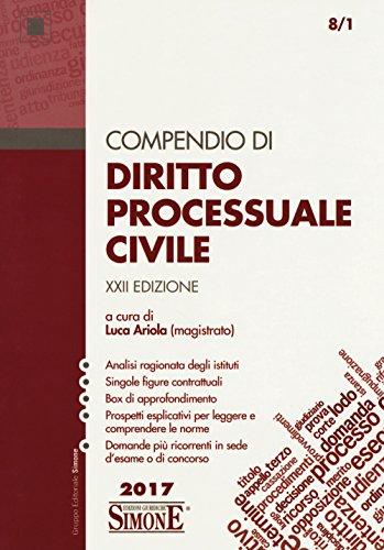 Compendio di diritto processuale civile Compendio di diritto processuale civile 51YoO0Q9VxL
