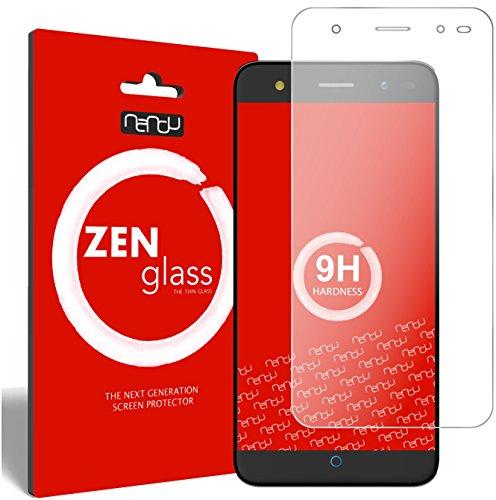 nandu I ZenGlass Flexible Glas-Folie für ZTE Blade V7 Lite Panzerfolie I Display-Schutzfolie 9H I (Kleiner Als Das Gewölbte Display)