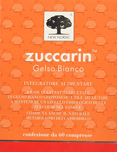 Zuccarin Integratore Alimentare per Metabolismo Zuccheri e Carboidrati - 60 Compresse