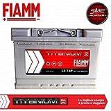 Fiamm, batteria per auto Titanium L374, 74 Ah, 680 A, polo positivo a destra