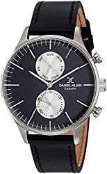 Daniel Klein Analog Blue Dial Mens Watch - DK11612-3