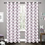 Best Home Fashion Blackout Curtains 100s - Exclusive Home Curtains Mars Woven Blackout Grommet Top Review