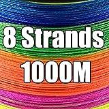 HATCHMATIC GHOTDA 300M 500M 1000M 4 Strang 8 Stränge 9 Strands Multicolor PE Geflochtene...