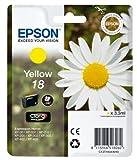 Epson T1804 Tintenpatrone Gänseblümchen, Claria Home Tinte, Text- und Fotodruck (Singlepack) gelb