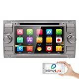 hizpo Autoradio GPS Navigation Car DVD Radio Stereo Wifi Mirrorlink Ipod Bluetooth Fit for FORD Focus