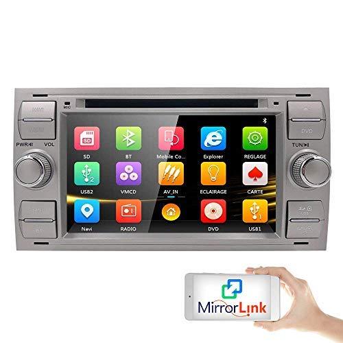 Para FORD Focus Car Radio GPS Navigation Car DVD Radio Stereo Wifi...