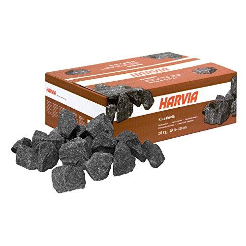Harvia Saunasteine Ofensteine Steine für Saunaofen Elektroofen 20 kg