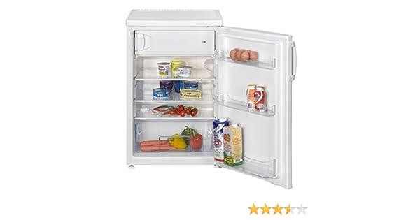 Kleiner Kühlschrank Mit Gefrierfach Real : Amica ks 15423 w kühlschrank a 84 50 cm höhe 130 kwh jahr 93