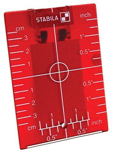Stabila 07474 Type LAR250 Target Plate by Stabila