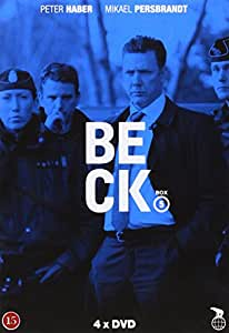 Beck - Series 17-20 - 4-DVD Box Set ( Skarpt läge / Flickan i Jordkällaren / Gamen / Advokaten ) ( The Scorpion / Girl In the Basement / The Vulture / The Attorney )