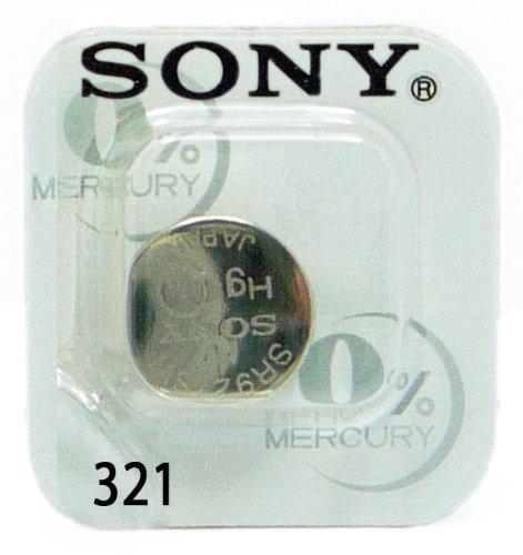 1 Pile SONY 321 - SR616SW - 0% Mercure