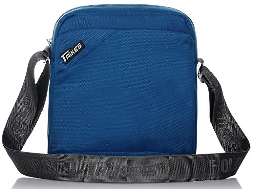 Binlion TAIKES Men's Shoulder Travel Messager Bag Crossbody Ipad Bag Daypack Blue-3