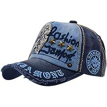 Gorra de Béisbol con Algodón - iParaAiluRy Unisex Sombrero para Hombre y  Mujere - al Aire 18d2a071e9b