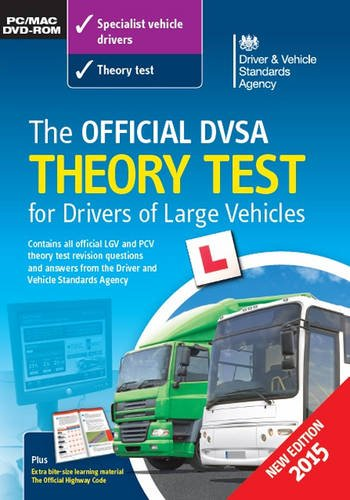 DVSA Official 2015 Theory Test for Drivers of Large Vehicles DVD-ROM